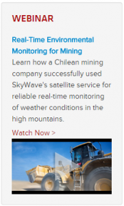 Weather Monitoring for Mining webinar
