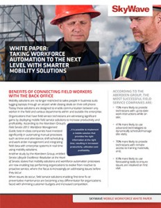Mobile workforce white paper