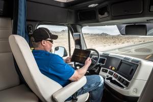 Driverless trucking