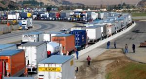 big truck traffic