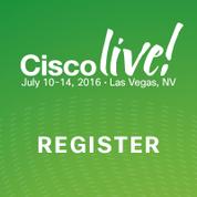 Cisco Live 2016