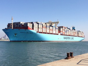 Maersk Line smart containers