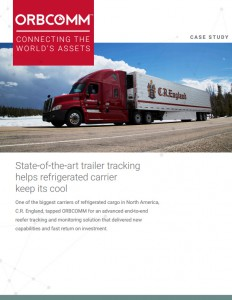 C.R. England reefer telematics solution