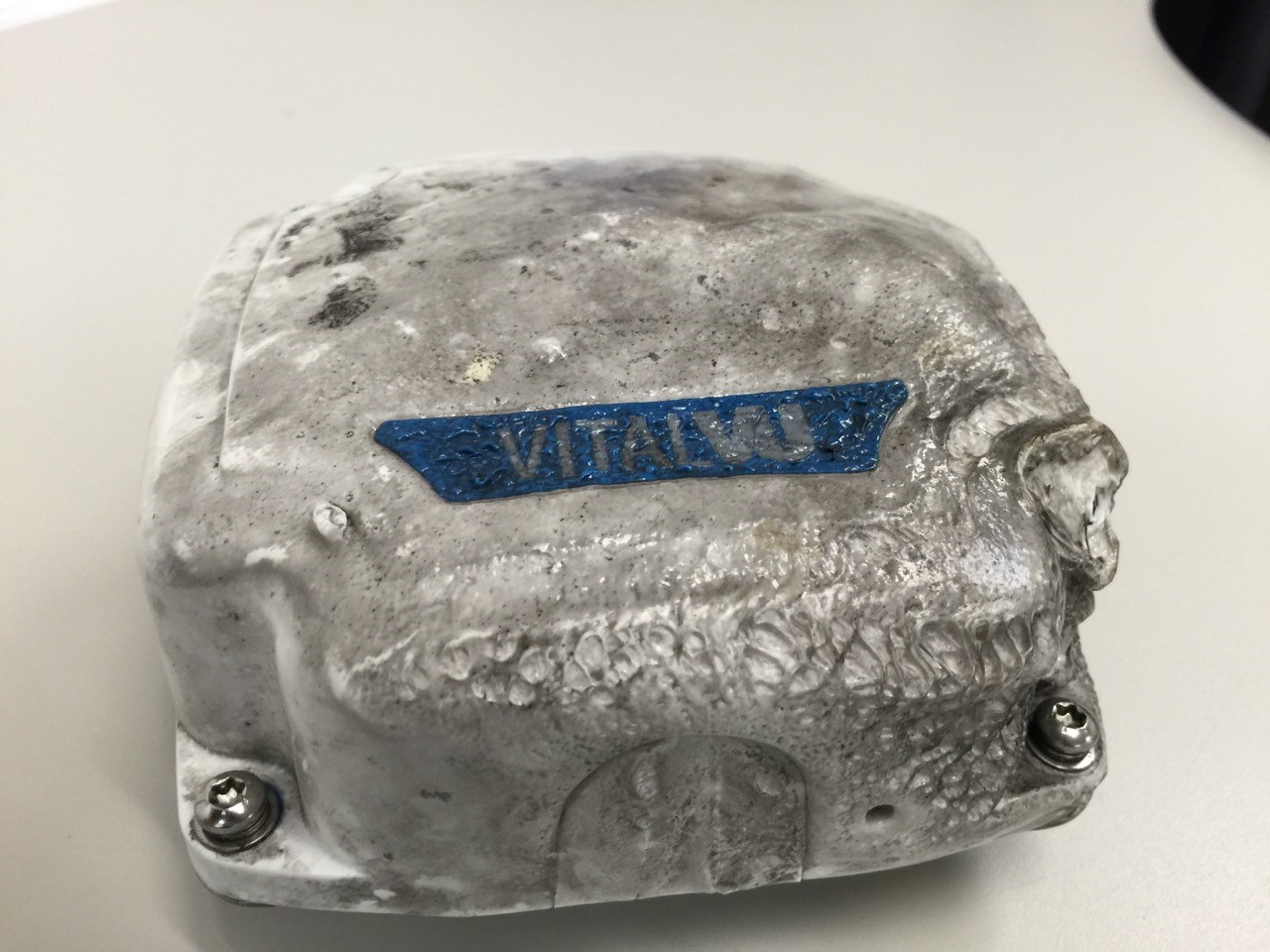 This ORBCOMM IDP-680 satellite terminal kept on ticking for VitalVu after a powerful oil tank explosion and fire