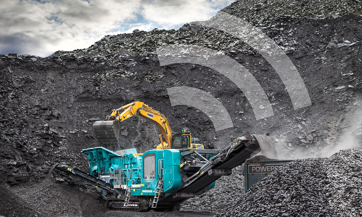 powerscreen crusher monitoring