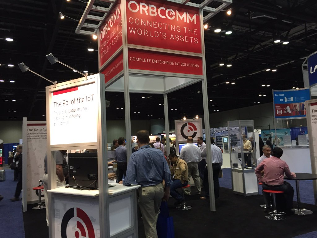 Visit ORBCOMM at Booth 530 of RFID Journal LIVE!