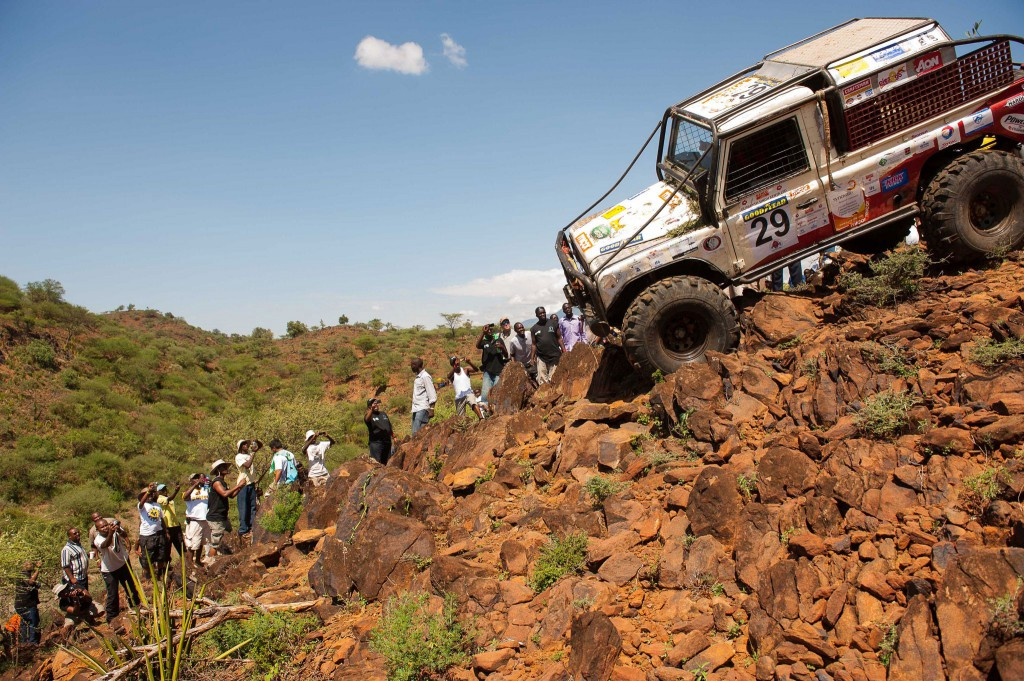 vehicle tracking at Rhino Charge Kenya