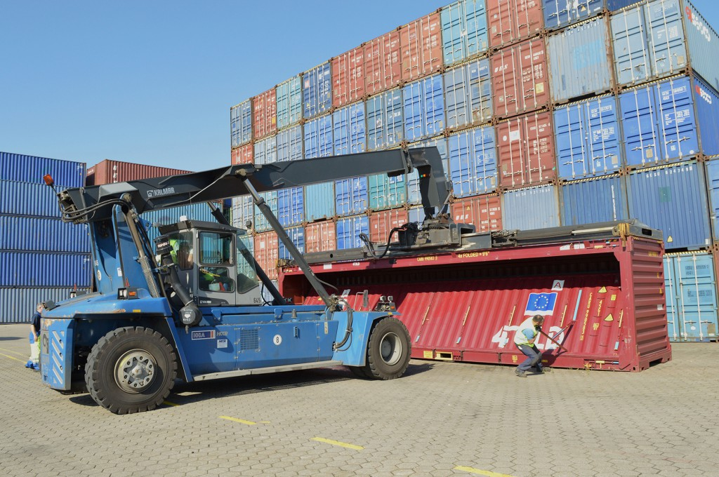 Holland 4 Fold container