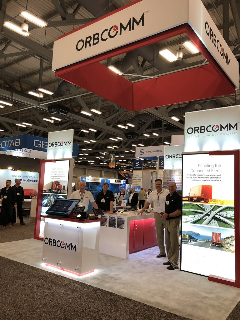 ATA MCE 2018: ORBCOMM Booth